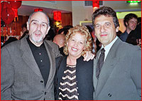 The Author with Alain Boublil and Claude-Michel Schönberg