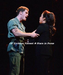 Alistair Brammer and Lea Salonga