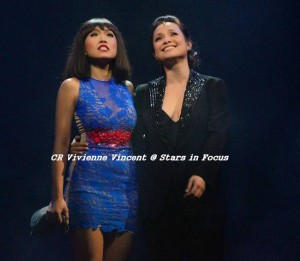 Rachelle Ann Go with Lea Salonga